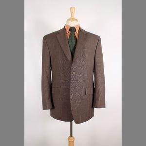 Ralph Lauren 43R Brown Sport Coat B447